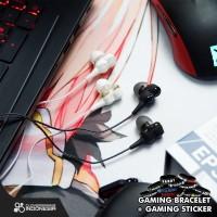 Rexus EP3 Dual Driver With Mic - EP 3 Gaming Earphone