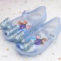 Sepatu Anak Perempuan Flatshoes Jelly Mini Melisa Frozen