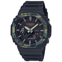 Jam Tangan Pria Casio G-Shock Digital Analog SpecialColor GA-2100SU-1A