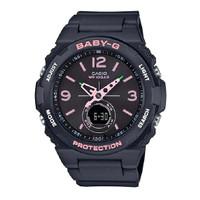 Jam Tangan Wanita Casio Baby-G Black Digital Analog BGA-260SC-1ADR