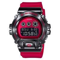 Jam Tangan Pria Casio G-Shock Digital Red Resin Strap GM-6900B-4DR