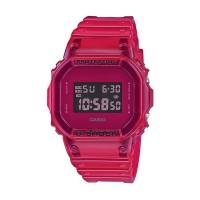 Jam Tangan Unisex Casio G-Shock Digital Red Transparent DW-5600SB-4DR