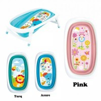 Right Starts foldable Baby bathtub bath tub bak mandi lipat