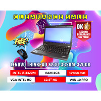 LENOVO THINKPAD X230-3320M-4GB-320GB-WIN10PRO - SECOND