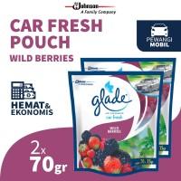 Glade Car Wild Berries Refill 70gr x 2pcs