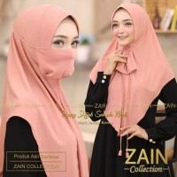Hijab Jilbab Kerudung Bergo Instan Khimar Cadar Poppy Niqab Syari