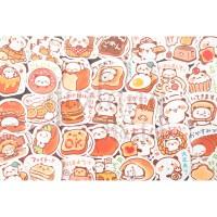 Stiker Chef Panda Lucu Unik Sticker DIY Scrapbook GH 303377