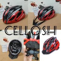 Helm Sepeda MTB Road Bike EPS Foam PVC Shell - wx002- Red