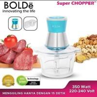 BOLDE BOLDe SUPER FOOD CHOPPER PENGGILING DAGING GILINGAN PENCINCANG