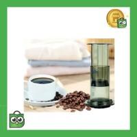AEROPRESS Set Portable French Press Coffee Maker - T35066 - Brown
