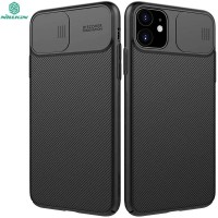 Nillkin Camshield Case iPhone 11 - Casing Black Soft Armor Original