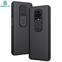 Nillkin Camshield Case Xiaomi RedMi Note 9 Pro - Casing Black Soft