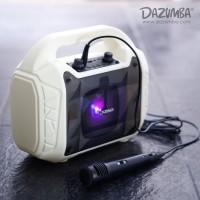 Speaker Aktif Karaoke Bluetooth N Radio Dazumba DW086 White / DW 086