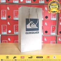 Paperbag Sandal Sepatu Kaos Celana Quicksilver-Karton-Sablon