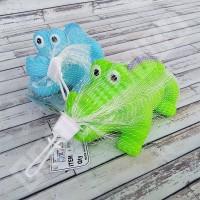 Buaya Pencet Bunyi B849 - Mainan Mandi Anak Bayi