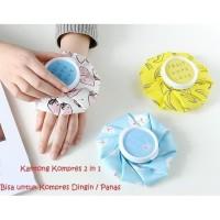 Kantong Kompres Es Dingin Panas Mini Hot Cold Compress Ice Packs Motif