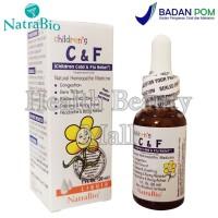 Natra Bio NatraBio Children C&F Cold & Flu 30 mL - Obat Flu Anak C & F