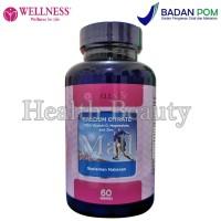 Wellness Calcium Citrate (60 Tabs) - Menjaga Kesehatan Tulang