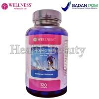 Wellness Calcium Citrate 120 Tablets - Menjaga Kesehatan Tulang