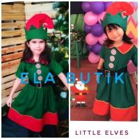 kostum elf-anak-kostum natal-xmas costume-santa-halloween