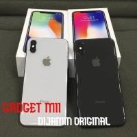 Iphone x 64 gb reddy gray-silver ex-inter original fullset