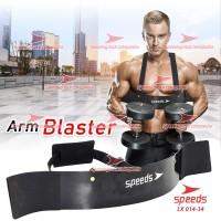 Bicep Triceps Arm Blaster Isolator Bar Barbell Dumbell Dumble 014-34