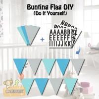 Banner Flag / Bunting Flag Custom (DIY - Do It Yourself)