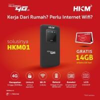 Modem Mifi Telkomsel HKM001 4G LTE Unlock All Operator - Resmi