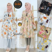 Baju Atasan Wanita Blouse Muslim Jamila Tunik Sf