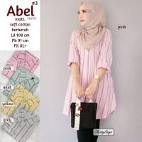 Baju Atasan Wanita Blouse Muslim Abel#3 Tunik Classy