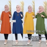 Baju Atasan Wanita Blouse Muslim Rosalinda #2 Tunik Magumi
