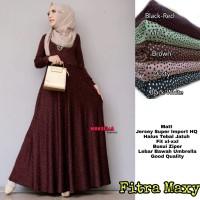 Baju Terusan Wanita Muslim Longdress Fitra Maxy Marsella