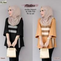 Baju Atasan Wanita Blouse Muslim Medina Tunik Eloka