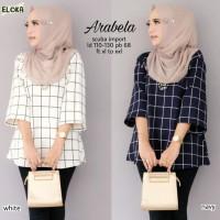 Baju Atasan Wanita Blouse Muslim Arabela Tunik Eloka