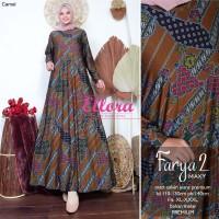 Baju Terusan Wanita Muslim Longdress Farya #2 Maxy Ellora