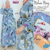 Baju Terusan Wanita Muslim Longdress Melanie Maxy Hn3