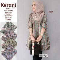 Baju Atasan Wanita Blouse Muslim Kerani Tunik Classy