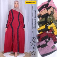 Baju Terusan Wanita Muslim Longdress Zuna Maxy Fouyou
