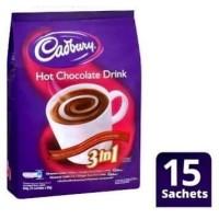 Cadbury Hot Chocolate Drink 3in1 450g(15x30g)
