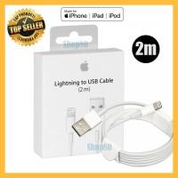 Lightning Cable 2M Ori iPhone iPad Original Apple Charger Kabel Data