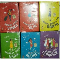 Paket 6pcs Novel Remaja Girl's Corner RIstee Best Seller Baru Segel