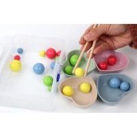 TweedyToys - Mainan Edukasi Kotak Jepit Bola