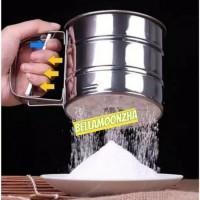 Gelas ayakan / saringan tepung stainless-BM34