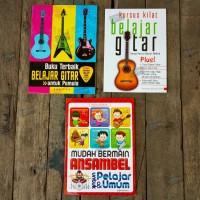 Paket Buku Belajar Gitar dan Ansambel