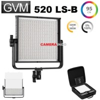 LED GVM-520LS Bicolor Video Light profesional lampu video