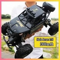 Mainan Mobil Remote Control Rock Crawler Alloy Material Off Road
