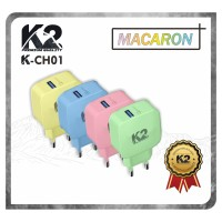Charger MACARON K2-CH01 K2 PREMIUM QUALITY Fast Charging Qualcomm 3.0