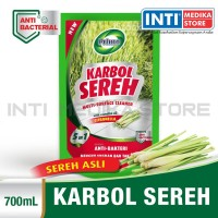PRIMO - Karbol Sereh Original 700 ml / Multi Surface Cleaner (Pouch)