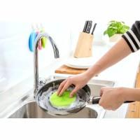 Spons Silicon Cuci Piring Anti Bakteri- Dish Cleaning Brush