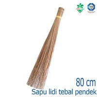 Sapu Lidi Tebal Sapu Kebun Pendek Short Garden Broom 170098 Cleanmatic